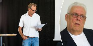 Thomas Andersson läste upp ett brev från sin pappa Börje Andersson på måndagens årsmöte.  Foto: Oliver Åbonde/Arkiv