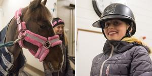 Hästar och hästhoppning är livet, tycker 12-åriga Nika Sundström. I förra veckan var hon och Munsboro Girl – eller