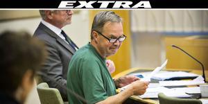 Karl Hedin är en av fyra män som misstänks ha begått grovt jaktbrott. Han nekar till alla anklagelser.