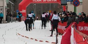 Under lördagen avgjordes både Kristinaloppet och Engelbreksthalvan. Arkivbild: Alexandra Edman
