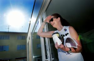 Marie Johansson Flykt hoppas på många visioner och goda idéer under de tre dagarna som visionspalatset håller till på Flanaden.