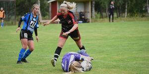 Sofia Boström tog in Skorped i matchen med sitt 1-2-mål.