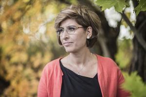 Suzanne Ibrahim är Östersunds fristadsförfattare. Foto: Sandra Lee-Pettersson