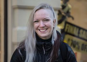 Victoria Karlsson, 27 år, studerande, Östersund.
