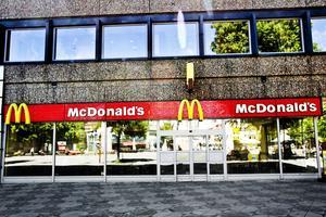 McDonalds i Gävle. Arkivbild.