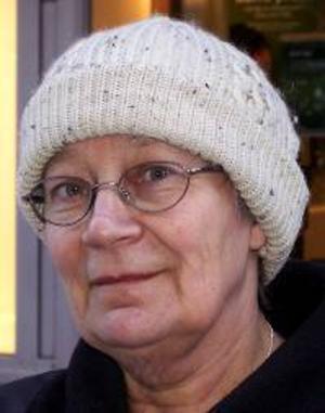 Kirsti Kokkonen Södergren, 60 år,  Slandrom:– Nej. Det är inte lika spännande som när Ingemar Stenmark och de andra var med. Då stannade hela Sverige.