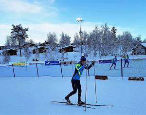 Filip Danielsson i nya dräkten; SK Bores.