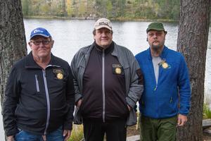Från vänster: Ove Segelström, Christer Engelskär och Stefan Fjällström.