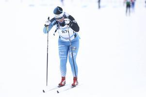 Jennie Jirhed, Östersunds SK, vann damklassen i Krokomsturen i överlägsen stil. Här från Jämtkraft Ski Marathon tidigare i vinter.