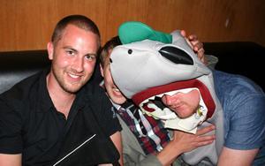 Pluto. Daniel, Fredrik och Magnus