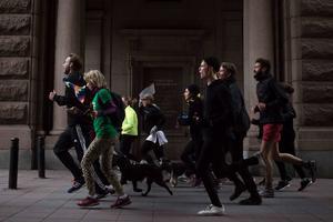 Löpare från Riksteaterns projekt