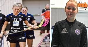 Snabba forwarden Jessica Carlsson och poängstarka backen Wilma Persson fortsätter i VM IB.