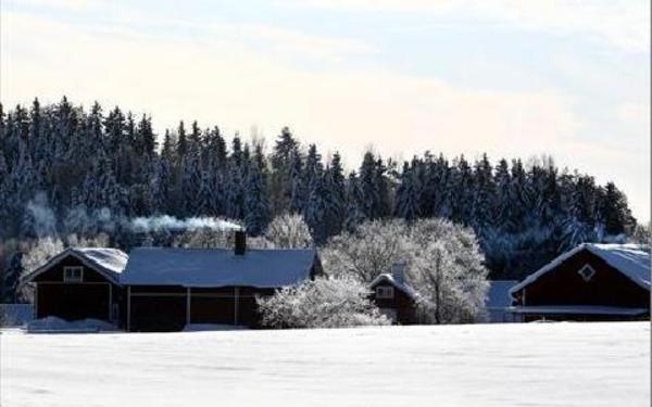 Det var kallt i Borlänge och Dalarna på fredagen. Minus 19,7 i centrala Borlänge på morgonen. Men långt ifrån de -38,8 som noterades på dagen för 43 år sedan....FOTO: JOHNNY FREDBORG