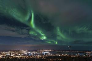 Bilder från Södra berget i Sundsvall.