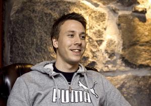 Patrik Flodin showade i Ryssland.