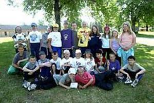 Foto: NICK BLACKMON På gång. 31 barn i åldrarna åtta till 15 år var anmälda till lägret i Marma. Kanske är ett uppsving för orienteringen på gång?
