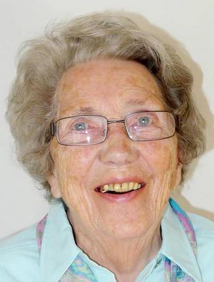 Karin Fange, Lövsta, Sundsjö, 93 år
