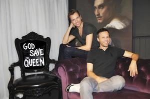 Framgångsduon. Jimmie Karlsson och Martin Nihlmar skapar lyxmöbler i London. Foto: Rick Schultz photography