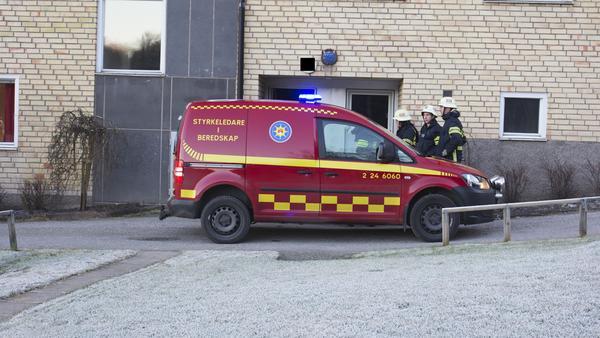 Räddningstjänsten ryckte ut till en misstänkt brand på Floravägen.