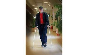 Mats Ek drabbades av stafylokocker - kallad sjukhussjuka - i operationssåret Foto: Staffan Björklund