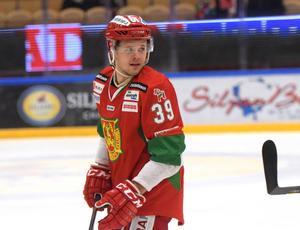 Jacob Nilsson gjorde förutom ett mål även två assists mot Björklöven.