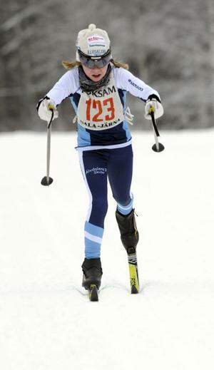 Katrin Sjödén, Älvdalen, segrare D 11-12.