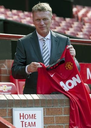 David Moyes blev inte långvarig som manager för United och fick inte ens fullfölja sin första säsong med klubben.