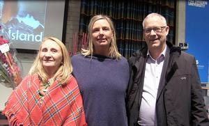 Kjerstin Valkeapää, Fia Gulliksson och Lars Lagerbäck - tre nybakade hedersdoktorer vid Mittuniversitetet.