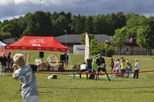 Med hjärtat. Ica Summercamp ger barn möjligheten att prova på olika sporter.