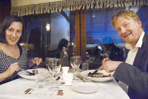 Lisa Cockette och Erik Engström är två riktiga matälskare och medlemmar i Matakademien.