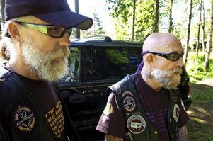 Överhuvud. Urban Svensson är den svenske ledaren för Christian Crusaders Motorcycle Ministry Sweden. På besök har han Brother Jerry som är klubbens internationella ledaren.