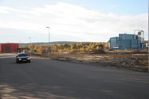 Mellan fjärrvärmeverket och Kährs ska den provisoriska mätstationen för virkestransporter ligga i väntan på en ny virkesterminal. Den gamla mätstationen på Östernäs ska rivas.
