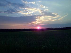 En ikväll åkte till köping Då fick jag syn denna vackra bild.