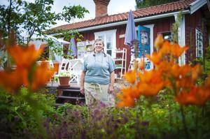 På söndag öppnar Marie Sundin upp sin praktfulla trädgård för besökare.