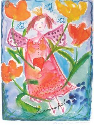 Konsttryck av Lena A Linderholm, lenalinderholm.com. Såldes för 1546 kronor.