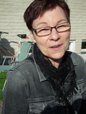 Solveig Blåder, Sollefteå:– Jag tycker det är viktigt!