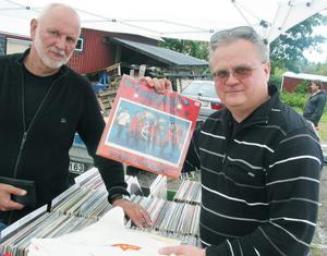 Lars Bergström fyndade vinyl av Ulf Shöning.