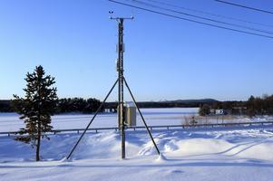 Rekordmätaren, väderstationen i Storbo Idre med Rendalssölen i bakgrunden. Foto:Nisse Schmidt