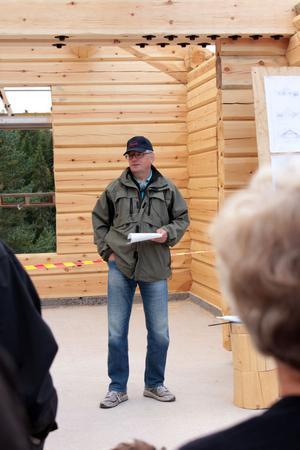 Per-Arne Oscarsson berättade om Sixten Jernberg museet som ska stå klart lagom till Vasaloppet 2013.