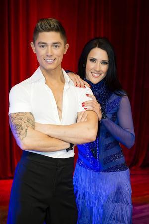 Alexander Hermansson dansar med Jeanette Carlsson.