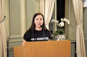 Therese Hoikkala (V) föreslår att utreda en öppen beroendemottagning i samarbete med vårdcentralen. Arkivbild: Maria Andréasson