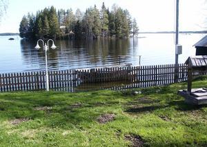 """""""Jag använder för tillfället grannens tomt som båtplats"""" säger Roland Eliasson."""