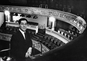 Erland Josephson som nybliven Dramatenchef 1965.Foto: Scanpix