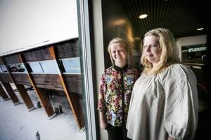 Dotter Sandra och mamma Maud, båda med efternamnet Ekqvist och från Vemdalen, är i Åre för att belysa kampen för deras bröder och söner ska ges samma möjligheter som de utan funktionshinder.