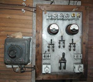 Den gamla kraftstationen är förstås inte i drift längre, men det är förstås sevärt ändå.