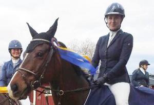 Johanna Frunck vann med Monte Catini och tog tre övriga placeringar med Spirello i Dala-Hoppet.