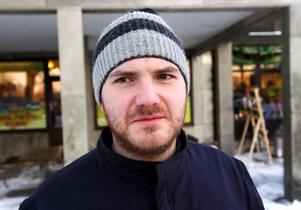 Johan Pettersson, Östersund– Nej, det blir ingen tomte  i år. Jag har varit tomte många gånger förut eftersom jag har flera småsyskon.