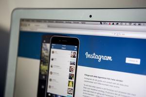 Det populära sociala nätverket och fotodelningsappen Instagram.