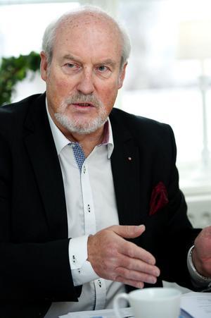 Olle Rigborn vill skapa utrymme för underhåll och nyproduktion.