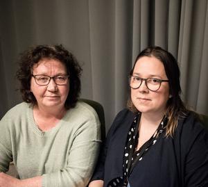 Ewa Kjell och Sanna Ångbäck talar om vikten att hjälpa ungdomar tidigt.